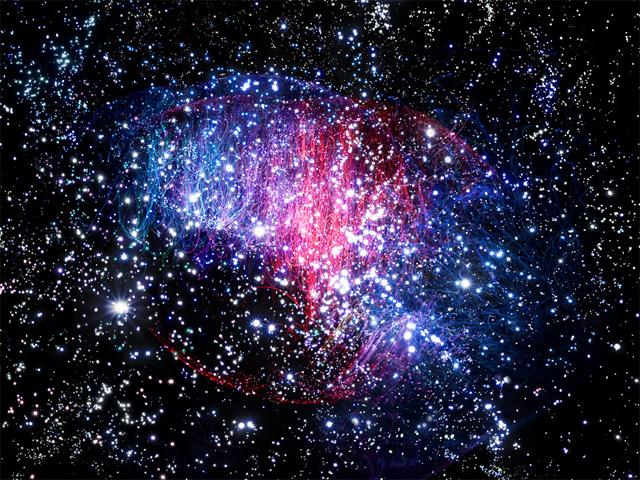 Nebulae by Fabian Oefner