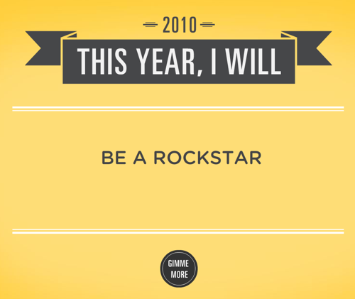 New Year's Resolution Generator