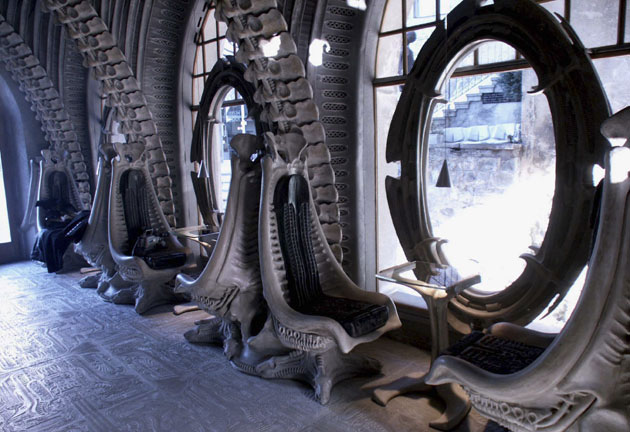 Museum HR Giger Bar