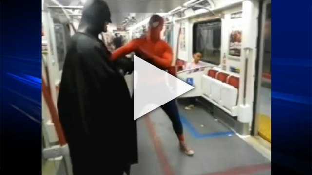 Spider-Man VS Batman CTV