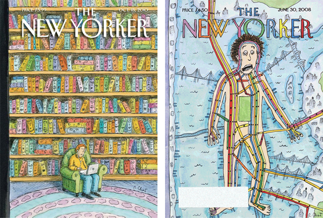 New Yorker Covers by Roz Chast