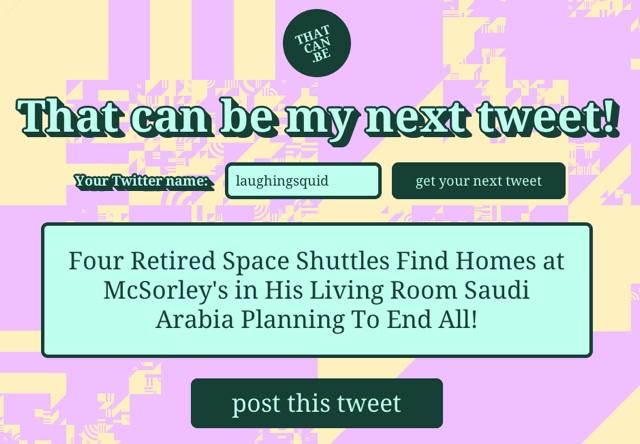 next-tweet