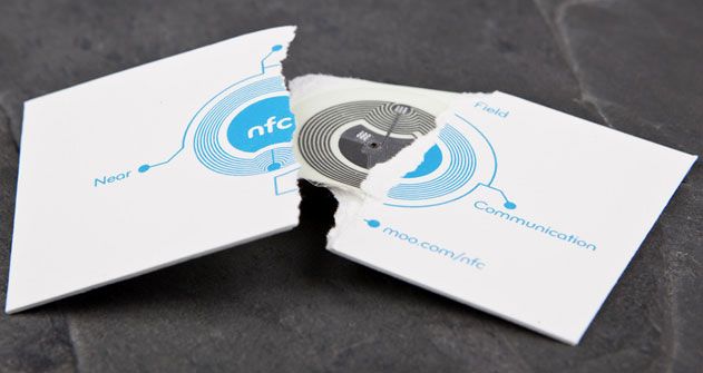 NFC Card by MOO