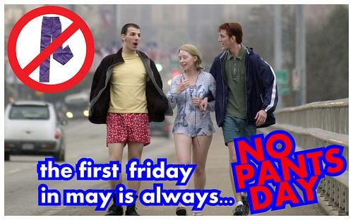 No Pants Day