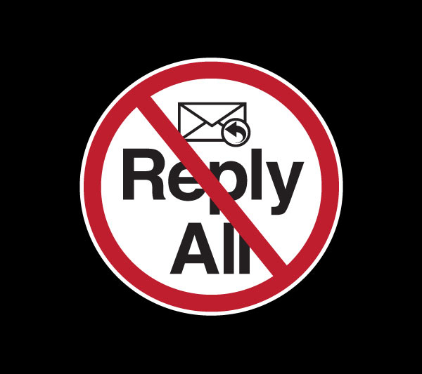 Reply All Prohibited