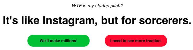 Nonstart Startup Pitch Generator