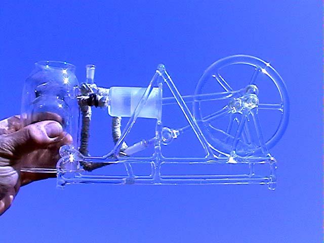 Glass machines by Michal Zahradník