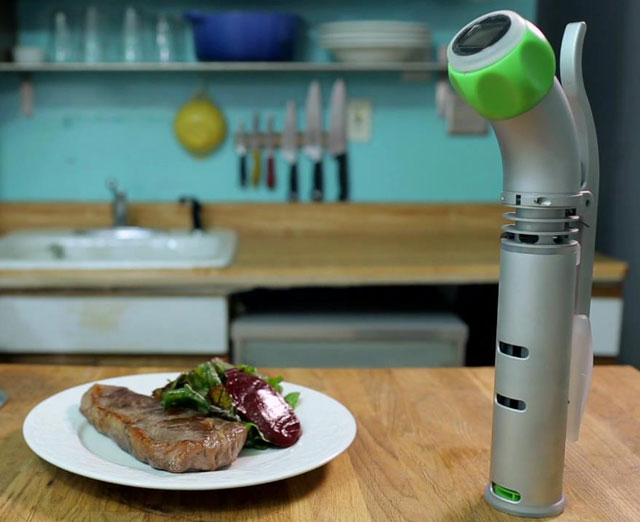 nomiku an immersion circulator for home sous vide cooking. Black Bedroom Furniture Sets. Home Design Ideas