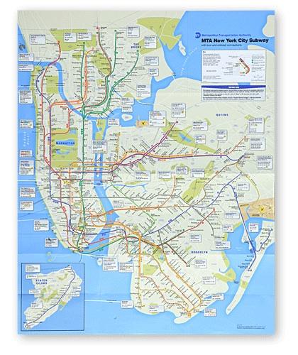 New Design Of New York City Subway Map