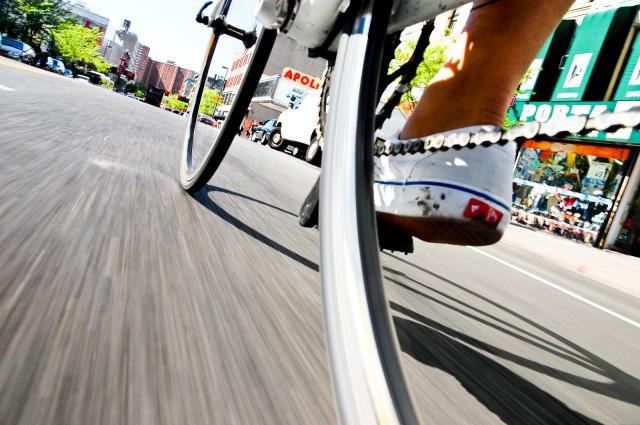NYC by Bike by Tom Olesnevich
