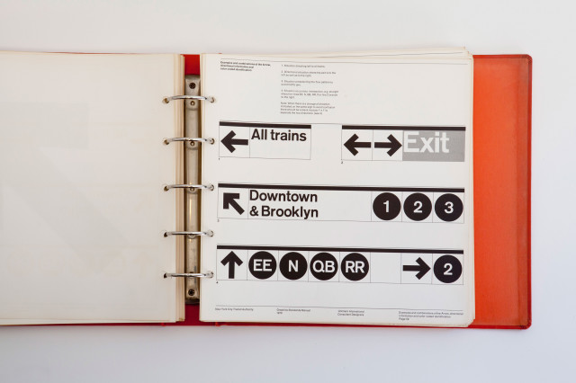 New York City Transit Authority Graphics Standards Manual 1970