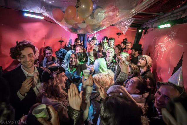 A Recurring New Year's Eve Experience Held in a Box Truck