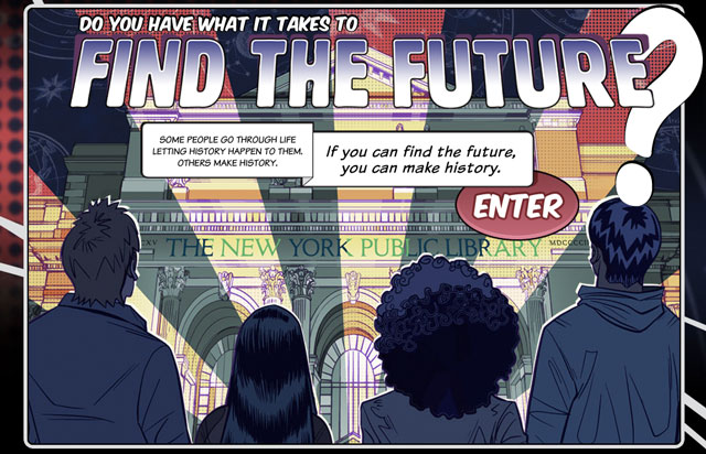 Find the Future at NYPL