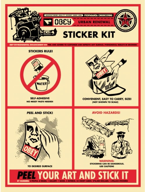 Obey Sticker Kit