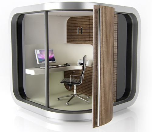officepod a portable workspace