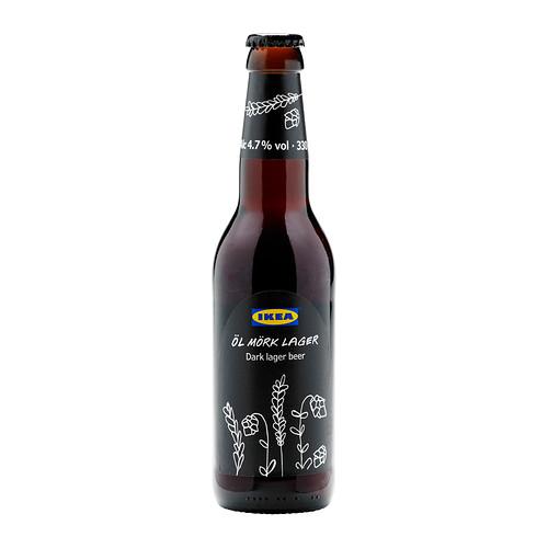 Dark Lager Beer by IKEA