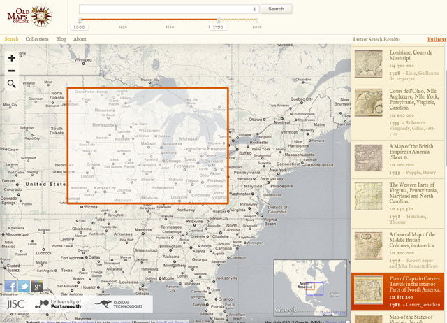 Old Maps Online A Site For Finding Historical Maps - Buy old maps online