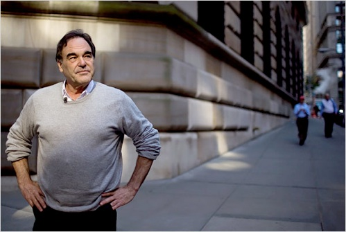 Oliver Stone Making Wall Street Sequel