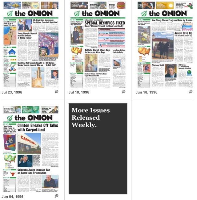The Onion Archive Project