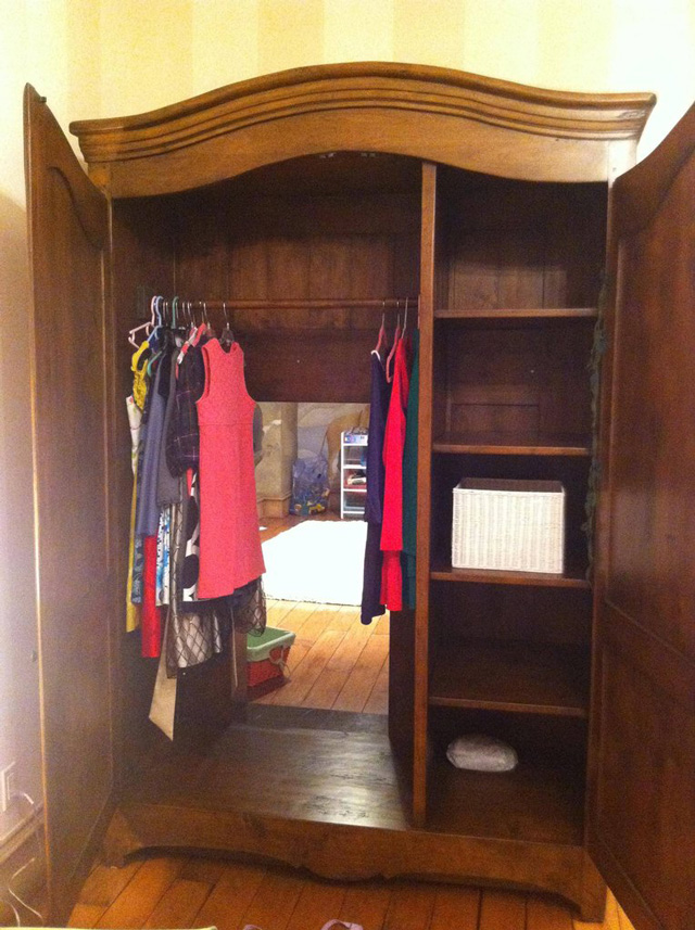 A Secret Narnia Themed Play Room Found Within A Wardrobe
