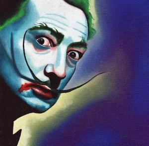 Dalí Joker by Mike Capp