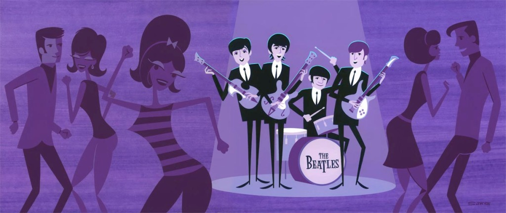 All Together Now: An Art Show Tribute to The Beatles at Gallery Nucleus
