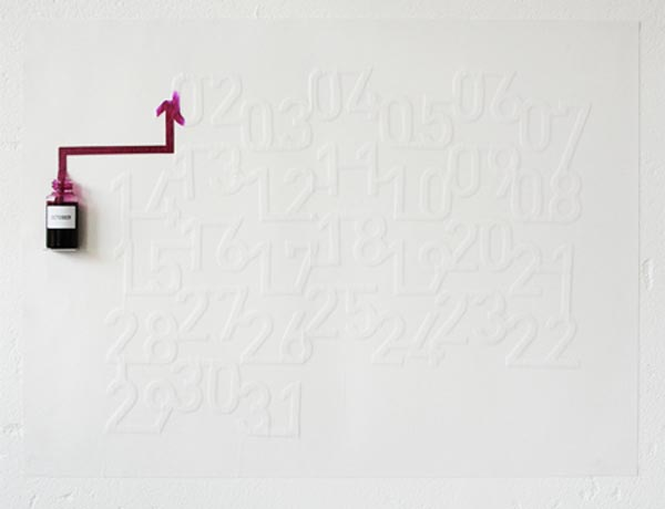 Ink Calendar by Oscar Diaz
