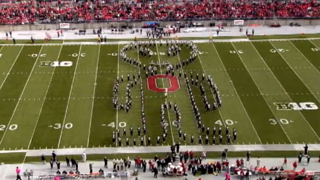 The Ohio State University Marching Band Goes Out of This World