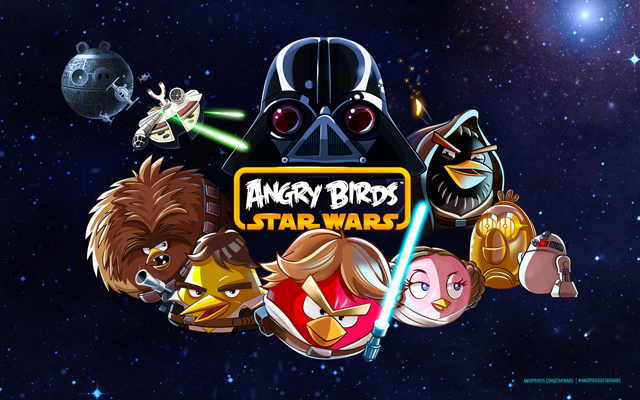Angry Bird Star Wars