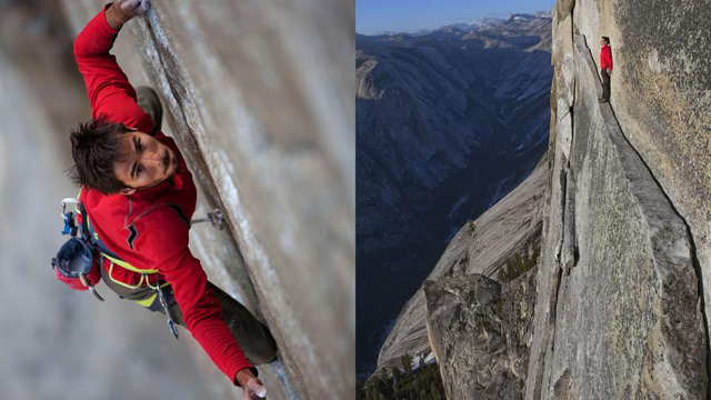 Free Soloing with Alex Honnold
