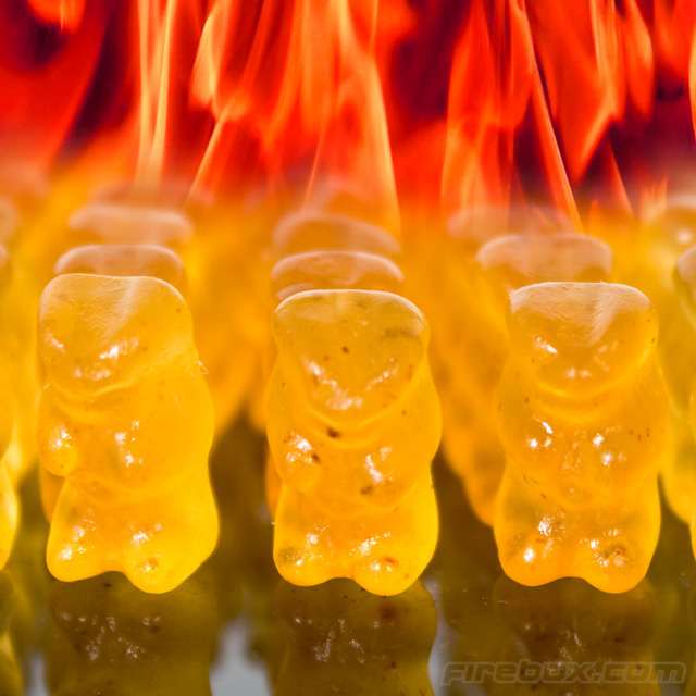 Evil Hot Gummi Bears