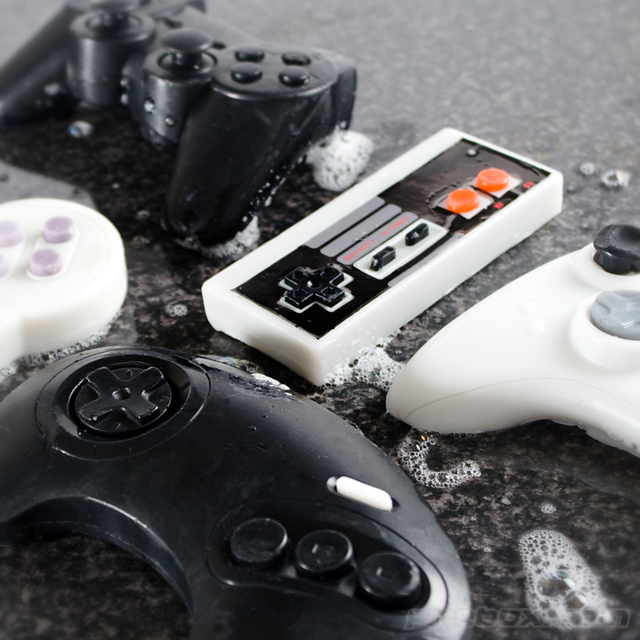 A Geeky Series Of Video Game Controller Gamer Soaps