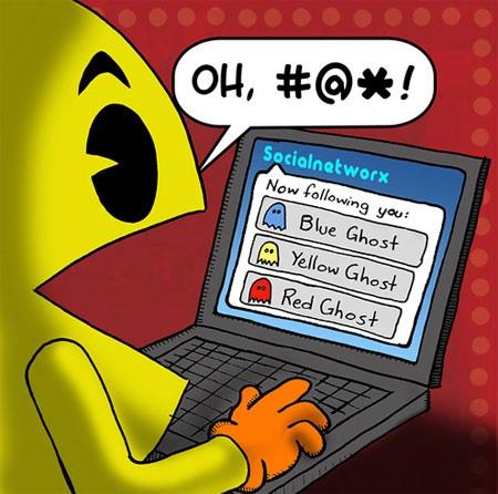 Pac-Man Twitter
