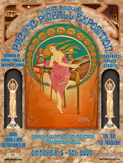 The First Annual Pacific Pinball Exposition