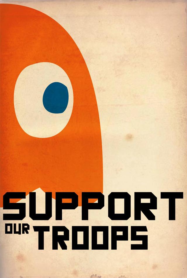 Pacman Propaganda by Joseph Baranowski