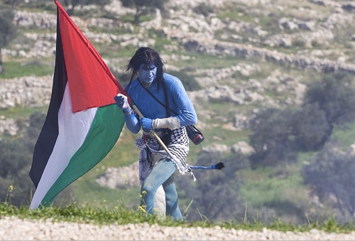 Palestinian Avatar Protest