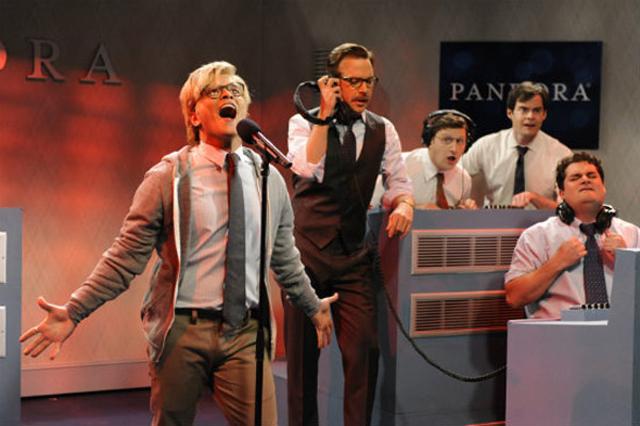 SNL: Bruno Mars as Pandora Radio Intern