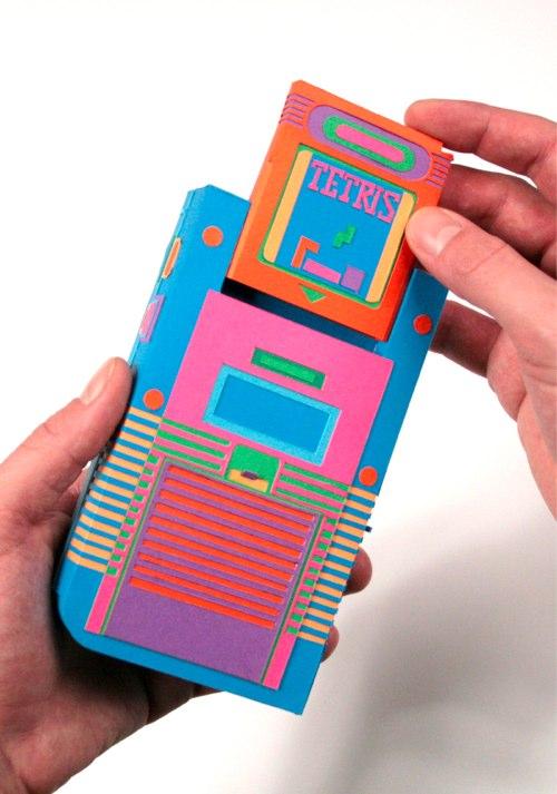 Papercraft Game Boy