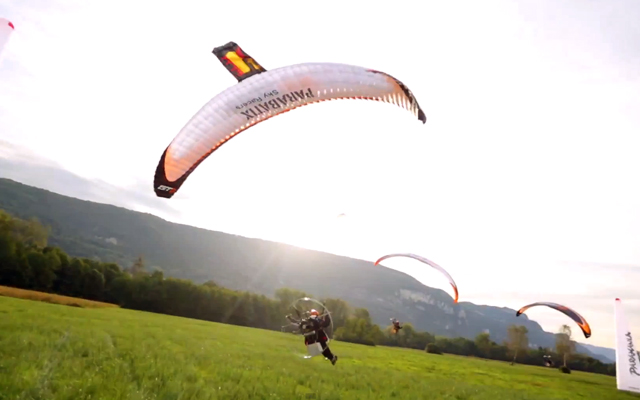 Paramotor Sky Racers - Parabatix by Devin Graham