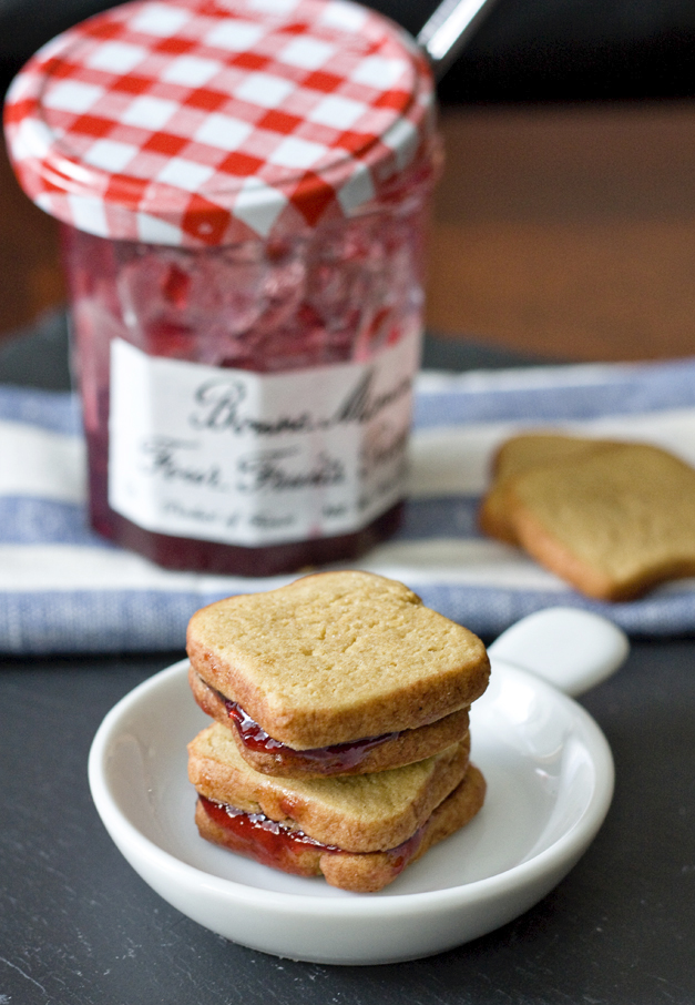 PBJ Cookies Sandwiches