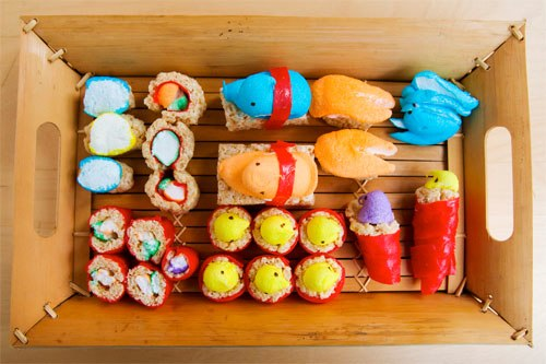 How to Make Peepshi, Sushi Made From Peeps