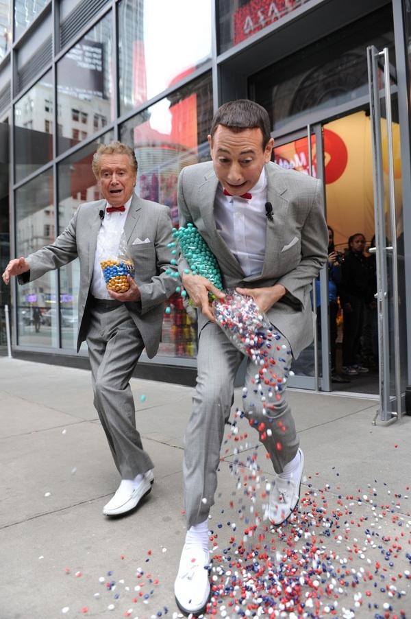 Pee-wee Herman & Regis Philbin
