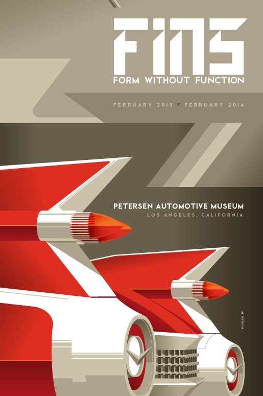 Fins at Petersen Automotive Museum