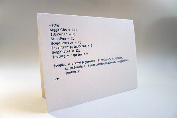 Code Cards by Matt Raw