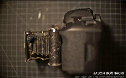 1920s Pocket Camera digital conversion by Jason Bognacki