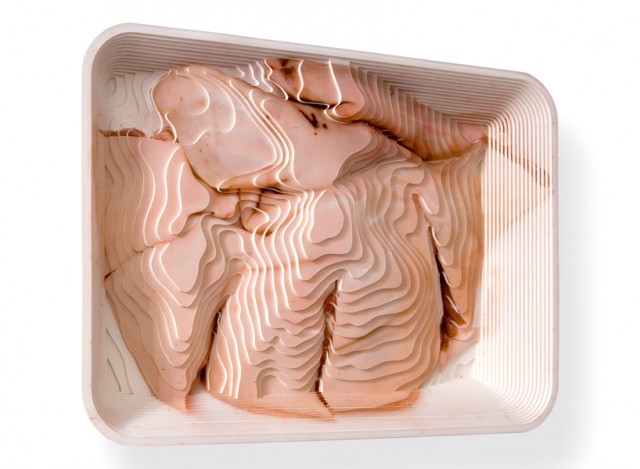 Topographic food art by Stefanie Herr