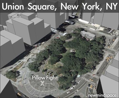 Pillow Fight New York