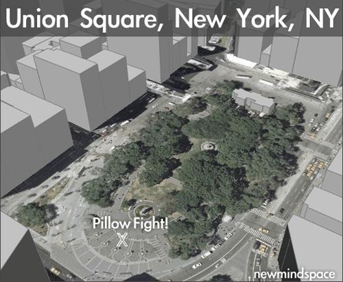 Pillow Fight! New York