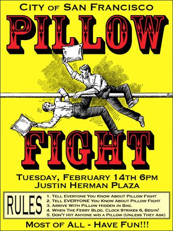 Pillow Fight Club