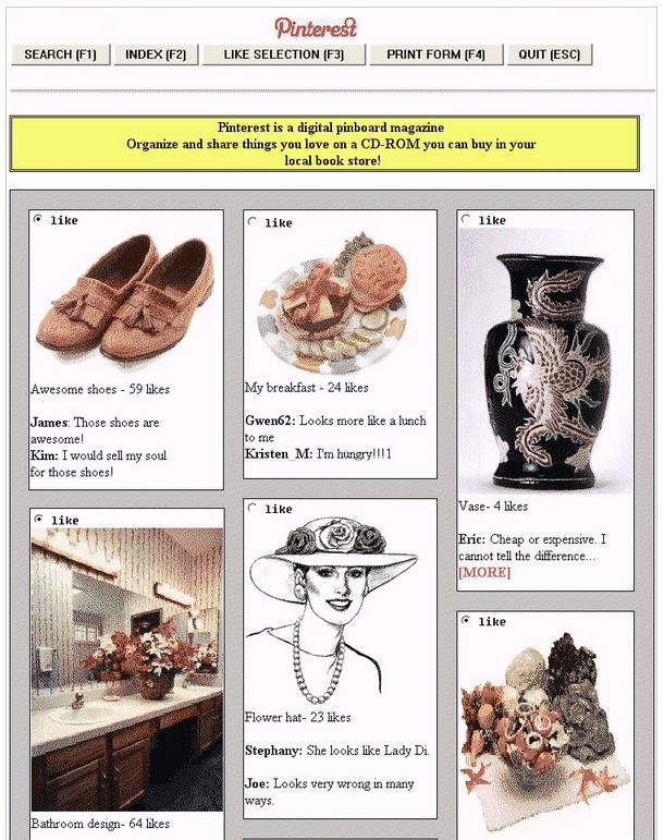 Pinterest 1990s